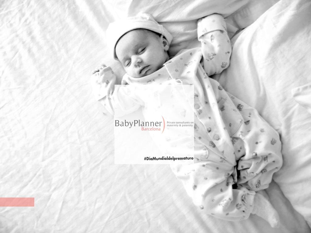 Bebé prematuro, bebé feliz.