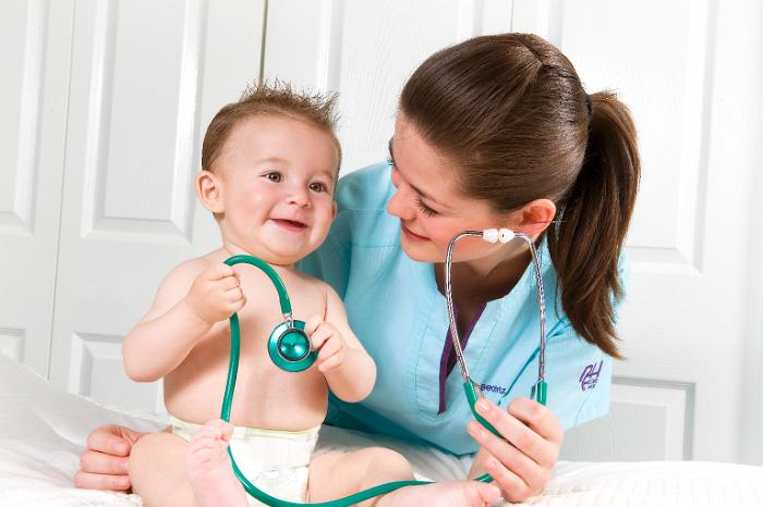 Enfermera pediatrica